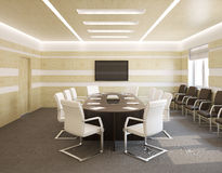 Conference room inerior. Royalty Free Stock Photo
