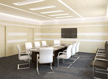 Conference room inerior. Stock Images