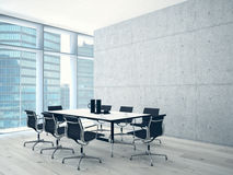 Conference room interior stock photos