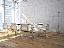Conference room interior royalty free illustration