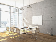 Conference room interior Royalty Free Stock Photo