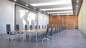 Conference room interior stock images