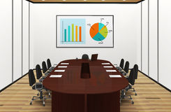 Conference Room Light Interior Illustration Stock Images