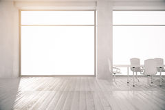 Conference room with no view Stock Photo