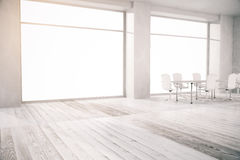 Conference room with no view side Stock Photography