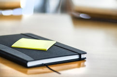 Conference room. With a notes book royalty free stock photography