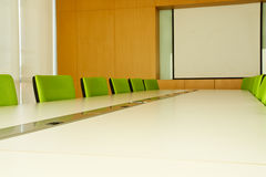 Conference room in office Royalty Free Stock Images