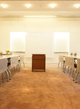 Conference room in office stock photos