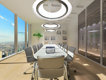 Conference room in office Royalty Free Stock Photography