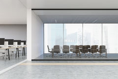 Conference room in open office Stock Photography