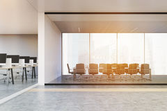 Conference room in open office Royalty Free Stock Images