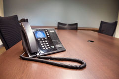 Conference Room Phone Royalty Free Stock Photo