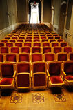 Conference room with rows of armchairs Royalty Free Stock Images