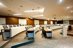 Conference room Series 01. Interior of modern conference room Stock Photo