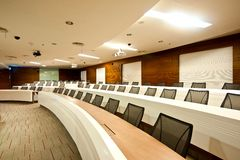 Conference room Series 02 Stock Images
