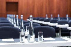 Conference  room is set for the business meeting Royalty Free Stock Photography