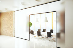 Conference room side Royalty Free Stock Photography