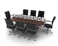 Conference room Stock Image