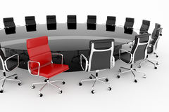 Conference room. Royalty Free Stock Images