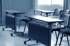 Conference room tables and chairs in the company Royalty Free Stock Photo
