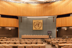 Conference room in UN Geneva Royalty Free Stock Images