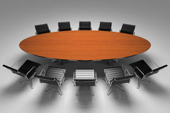 Conference table Stock Photos