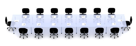 Conference Table 2 Royalty Free Stock Image