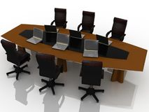 Conference table Stock Photography