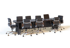 Conference table Royalty Free Stock Photography