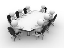 Conference table Royalty Free Stock Images
