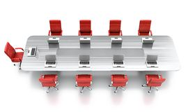 Conference table. Stock Photos