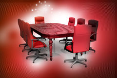 Free Conference Table Royalty Free Stock Image - 30253206