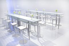 Conference tables Royalty Free Stock Photos