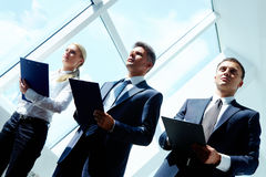 Conference work Royalty Free Stock Photography