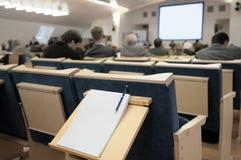 Conferencia de asunto. Fotografía de archivo libre de regalías