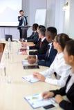 Conferencia de asunto Foto de archivo
