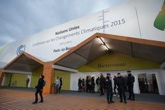 Conferencia del clima de la O.N.U COP21 fotografía de archivo