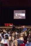 Conferencia del diseño conceptual de NAPOLI de TED X Imagen de archivo libre de regalías