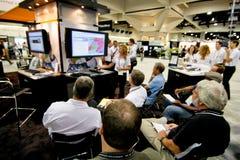 Conferencia del utilizador de ESRI Foto de archivo libre de regalías