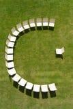 Conferencia el en semi-círculo Foto de archivo