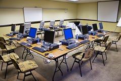 Conferencia electrónica del entrenamiento imagenes de archivo
