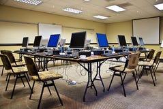 Conferencia electrónica del entrenamiento Foto de archivo libre de regalías