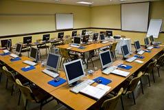 Conferencia electrónica del entrenamiento Fotografía de archivo libre de regalías