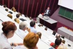 Conferencia en la universidad Fotografía de archivo libre de regalías