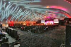 conferencia/grupo/teatro Foto de archivo libre de regalías