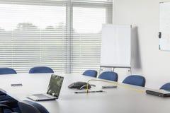Conferentieruimte in bedrijfsfaciliteit Royalty-vrije Stock Afbeelding