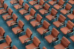 Conferentieruimte met stoel royalty-vrije stock foto