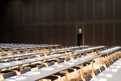 Conferentieruimte vóór vergadering Stock Afbeeldingen