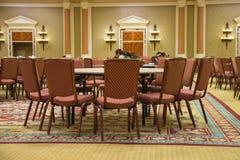 Conferentiezaal in het Paleis van Caesar in Las Vegas stock afbeelding