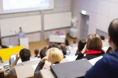 Conferenza all'università Fotografie Stock